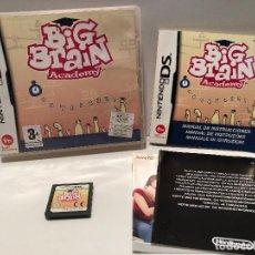 Videojuegos y Consolas: BIG BRAIN ACADEMY NINTENDO DS. Lote 135919642