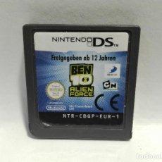 Videojuegos y Consolas: BEN 10 ALIEN FORCE NINTENDO DS. Lote 136037602