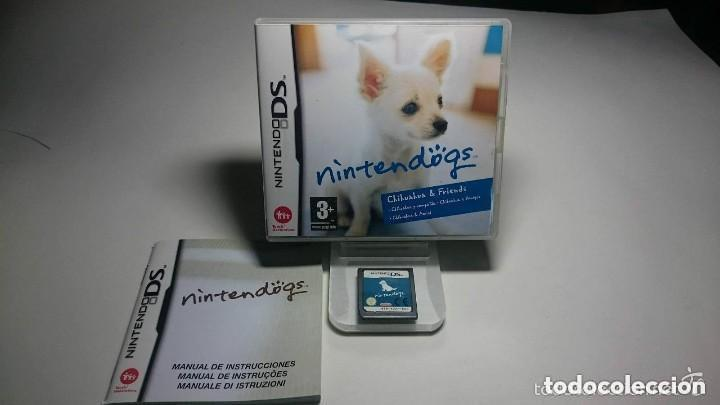 JUEGO NINTENDO DS NINTEN DOGS (Juguetes - Videojuegos y Consolas - Nintendo - DS)