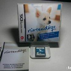 Videojuegos y Consolas: JUEGO NINTENDO DS NINTEN DOGS. Lote 136559266
