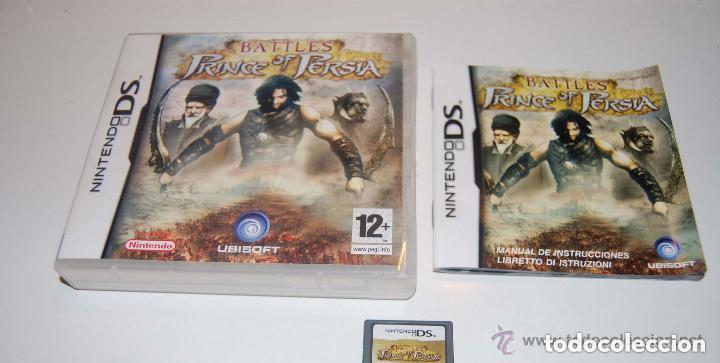 JUEGO NINTENDO DS BATLES PRINCE OF PERSIA (Juguetes - Videojuegos y Consolas - Nintendo - DS)