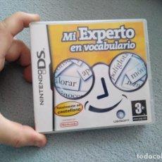 Videojuegos y Consolas: JUEGO NINTENDO DS EL EXPERTO EN VOCABULARIO . Lote 137458506
