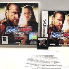 Videojuegos y Consolas: SMACKDOWN VS RAW 2009 NINTENDO DS. Lote 137592174