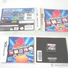 Videojuegos y Consolas: JUEGO NINTENDO DS MIDNIGHT PAY PACK. Lote 139250338