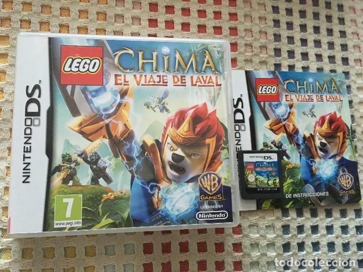 Lego Chima El Viaje De Laval Nds Nintendo Ds Kr Comprar