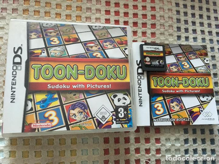 Toon Doku Sudoku With Pictures Nds Nintendo Ds Comprar Videojuegos