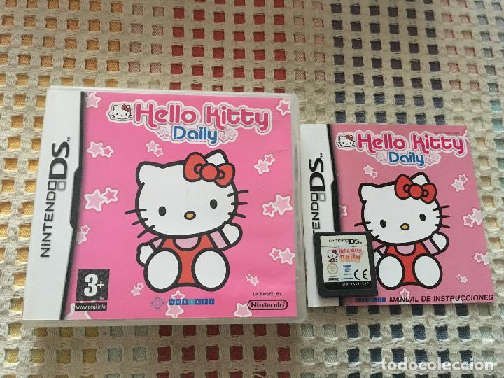 Hello Kitty Daily Nds Nintendo Ds Kreaten Juego Comprar
