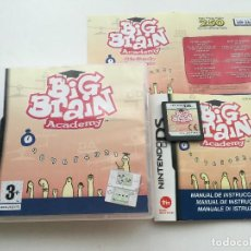 Videojuegos y Consolas: BIG BRAIN ACADEMY NDS NINTENDO DS KREATEN VIDEOJUEGO. Lote 140494394
