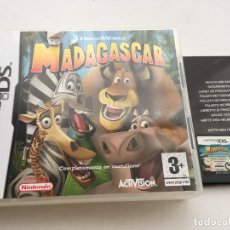 Videojuegos y Consolas: MADAGASCAR NDS NINTENDO DS KREATEN VIDEOJUEGO. Lote 140495410