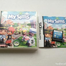 Videojuegos y Consolas: MY SIMS NDS NINTENDO DS KREATEN VIDEOJUEGO. Lote 140499326