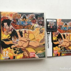 Videojuegos y Consolas: ONE PIECE GIGANT BATTLE BANDAI NDS NINTENDO DS KREATEN VIDEOJUEGO. Lote 140500442