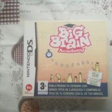 Videojuegos y Consolas: BIG BRAIN ACADEMY NINTENDO DS. Lote 140964638