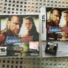 Videojuegos y Consolas: SMACK DOWN VS RAW 2009 FEATURING ECW THQ NINTENDO DS NDS. Lote 142077402