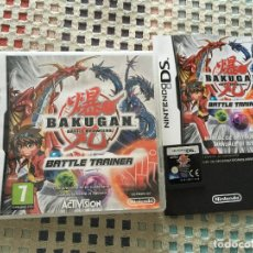 Videojuegos y Consolas: BAKUGAN BATTLE BRAWLERS BATTLE TRAINER NINTENDO DS NDS KREATEN JUEGO. Lote 142078074