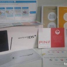 Videojuegos y Consolas: CAJA ORIGINAL DE NINTENDO DS. NEGRA. /...ENVIO CERTIFICADO INCLUIDO. Lote 142155506