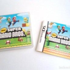 Videojuegos y Consolas: NEW SUPER MARIO BROS - NINTENDO DS - COMPLETO CON INSTRUCCIONES - PERFECTO ESTADO. Lote 143349426