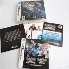 Videojuegos y Consolas: POKEMON EDICION DIAMANTE - NINTENDO DS - COMPLETO CON INSTRUCCIONES - PERFECTO ESTADO. Lote 143351566
