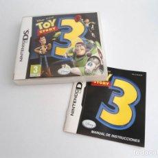 Videojuegos y Consolas: TOY STORY 3 - NINTENDO DS - COMPLETO CON INSTRUCCIONES - EXCELENTE ESTADO. Lote 143402710