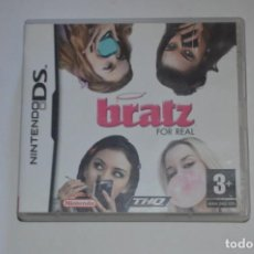 Videojuegos y Consolas: JUEGO NINTENDO DS BRATZ FOR REAL 2007 MGA ENTERTAINMENT PARKING LIZARDS MASCOTA TIPO TAMAGOTCHI. Lote 144614562