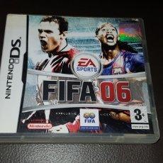 Videojuegos y Consolas: JUEGO NINTENDO DS FIFA 06. Lote 145708866