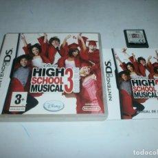 Videojuegos y Consolas: DISNEY HIGH SCHOOL MUSICAL 3 FIN DE CURSO NINTENDO DS PAL ESPAÑA . Lote 147413010