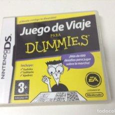 Videojuegos y Consolas: JUEGO DE VIAJES PARA DUMMIES. Lote 147501082
