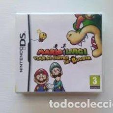 Videojuegos y Consolas: MARIO Y LUIGI VIAJE AL CENTRO DE BOWSER (DS/3DS). Lote 147552194