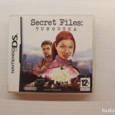 Videojuegos y Consolas: JUEGO NINTENDO DS SECRET FILES: TUNGUSKA. Lote 147689690