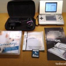 Videojuegos y Consolas: NINTENDO DS CLÁSICA GRIS CON 1 JUEGO FUNDA Y CARGD. Lote 147909994
