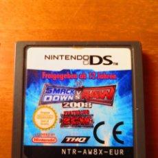 Videojuegos y Consolas: WWE SMACK DOWN VS RAW 2008 (NINTENDO DS). Lote 148180490