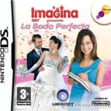 Videojuegos y Consolas: JUEGO NINTENDO DS IMAGINA SER PRESENTA LA BODA PERFECTA. Lote 148249590