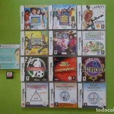 Videojuegos y Consolas: LOTE 14 JUEGOS NINTENDO DS. Lote 150168502