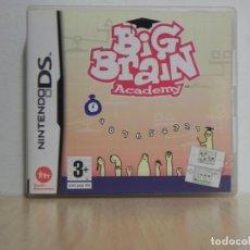 Videojuegos y Consolas: BIG BRAIN ACADEMY NDS NINTENDO DS . Lote 150545858