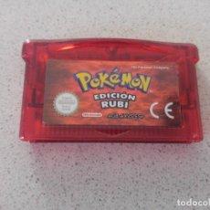 Videojuegos y Consolas: POKEMON RUBI PAL-ESPAÑA NINTENDO GAMEBOY ADVANCE GBA . Lote 151579254