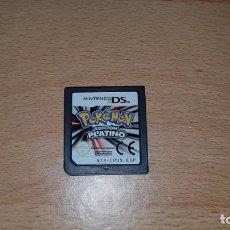 Videojuegos y Consolas: POKEMON EDICION PLATINO NINTENDO DS PAL.. Lote 151599698