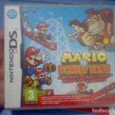 Videojuegos y Consolas: MARIO BROS VS DONKEY KONG MEGALIO EN MINI LAND NINTENDO DS COMPLETO LEER PROBADO. Lote 151624694