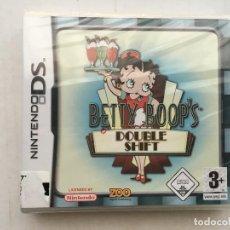 Videojuegos y Consolas: BETTY BOOP'S DOUBLE SHIFT NUEVO PRECINTADO BETY BOOP BOP DOBLE NDS NINTENDO DS KREATEN. Lote 151630482