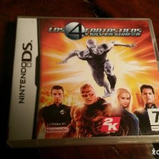 Videojuegos y Consolas: LOS 4 FANTASTICOS Y SILVER SURFER RISE OF THE FANTASTIC FOUR - NDS DS KREATEN 2DS 3DS XL NEW DSI. Lote 152675890