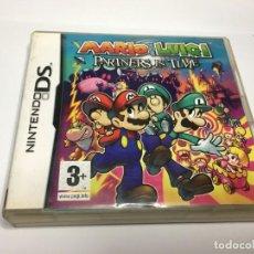 Videojuegos y Consolas: JUEGO MARIO & LUIGI PARTNERS IN TIME DE NINTENDO DS DSI 3DS 2DS XL NEW. Lote 153109746