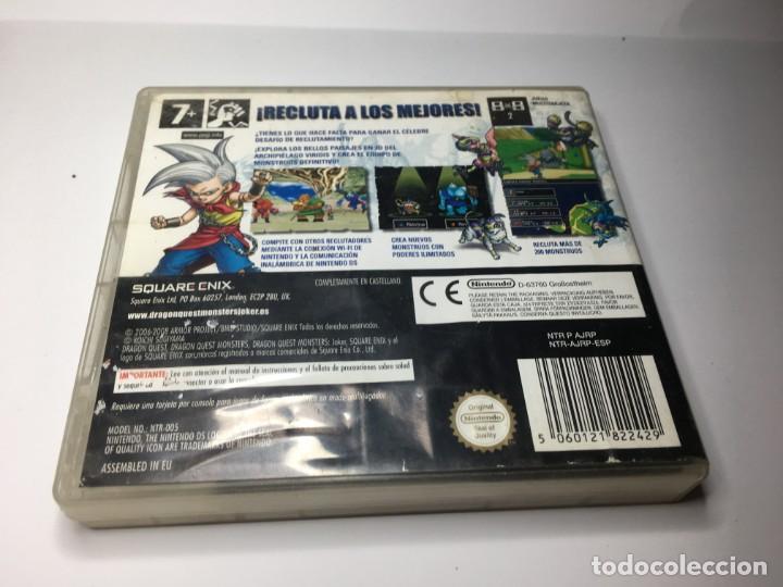 Videojuegos y Consolas: JUEGO DQM DRAGON QUEST MONSTERS JOKER DE NINTENDO DS DSi 3DS 2DS XL NEW - Foto 2 - 153110710