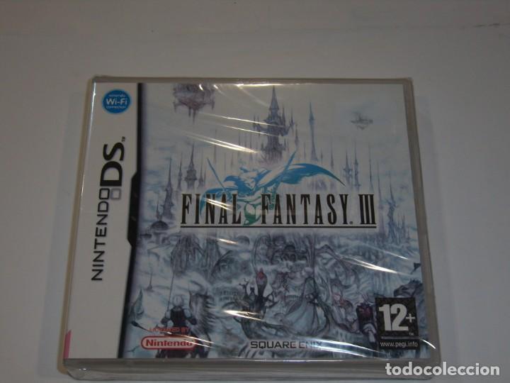 JUEGO NINTENDO DS, FINAL FANTASY III 3, NUEVO SIN ABRIR, PRECINTADO. (Juguetes - Videojuegos y Consolas - Nintendo - DS)
