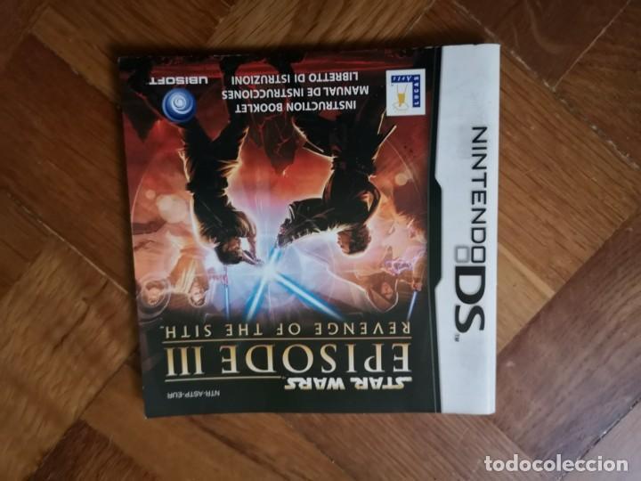 Manual Nintendo Ds Star Wars Episode Iii La Ven Buy Video Games And Consoles Nintendo Ds At Todocoleccion 154120398