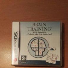 Videojuegos y Consolas: BRAIN TRAINING. Lote 154297402