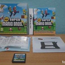 Videojuegos y Consolas: NEW SUPER MARIO BROS. DS. NINTENDO DS. PAL ESPAÑA. EN BUEN ESTADO.COMPLETO.. Lote 156002986