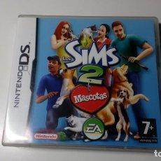 Videojuegos y Consolas: CARTUCHO JUEGO LOS SIMS 2 MASCOTAS NINTENDO DS NO GAME BOY FUNCIONANDO PERFECTAMENTE. Lote 156447742