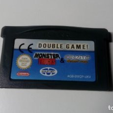 Videojuegos y Consolas: CARTUCHO JUEGO 2X1 MONSTER TRUCK AND QUAD DESERT FURY NINTENDO GAME BOY ADVANCE . Lote 156447782
