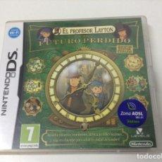 Videojuegos y Consolas: EL PROFESOR LAYTON Y EL FUTURO PERDIDO. Lote 156523318