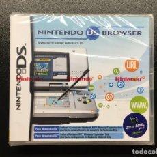 Videojuegos y Consolas: NINTENDO DS BROWSER DS / NDS PRECINTADO!!!. Lote 158383406