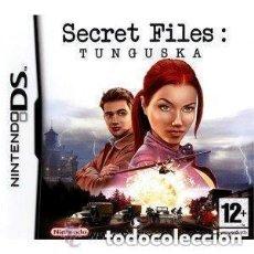 Videojuegos y Consolas: JUEGO NINTENDO DS SECRET FILES TUNGUSKA. Lote 158999466