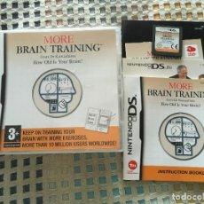 Videojuegos y Consolas: MORE BRAIN TRAINING NINTENDO DS NDS KREATEN. Lote 159187778